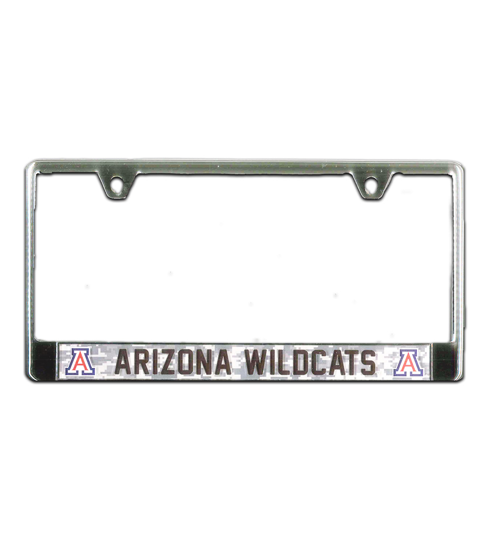 Image For WinCraft: Arizona Wildcats Digital Camo License Plate Frame