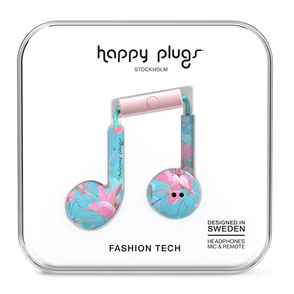 Image For Happy Plugs: Earbud Botanica Exotica
