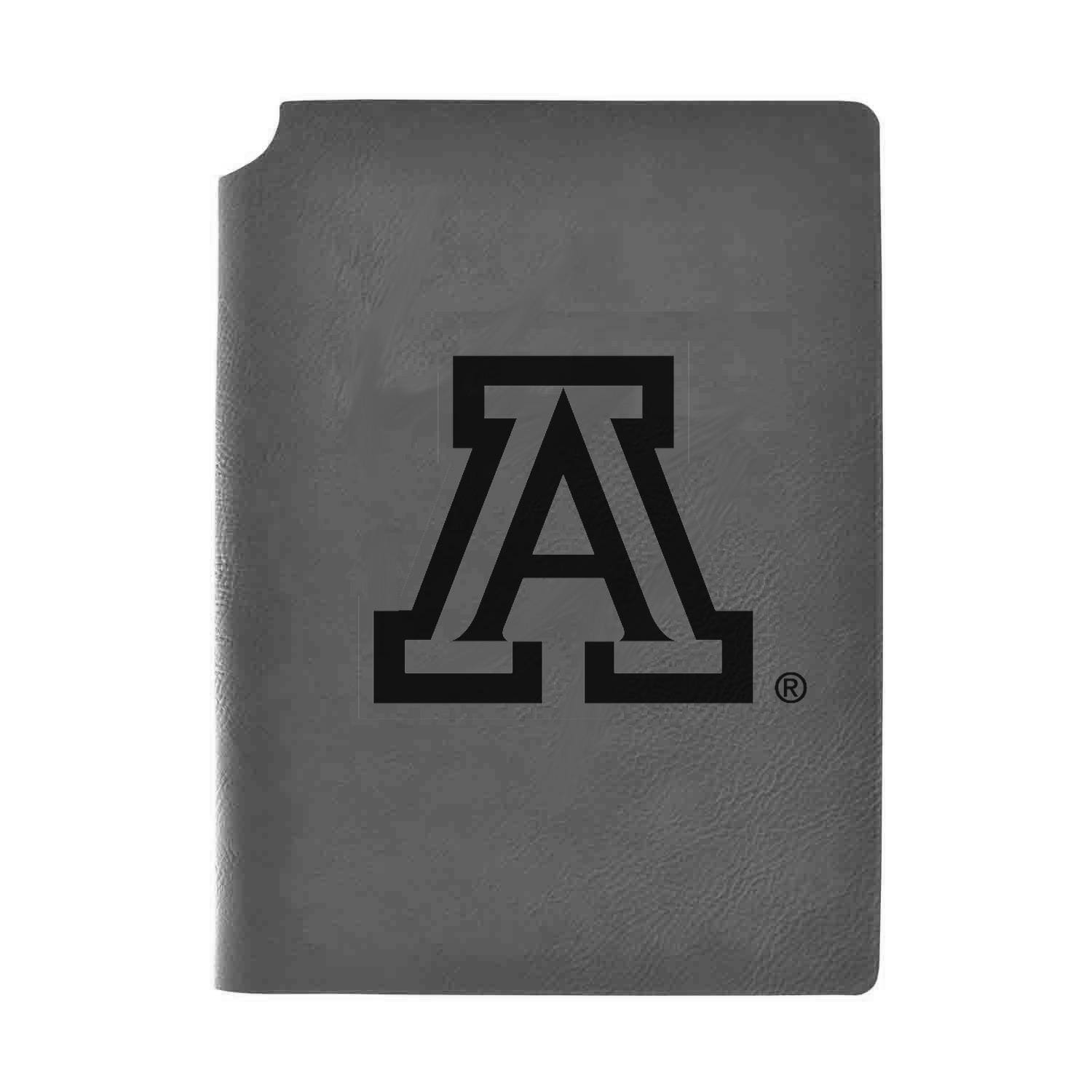 Image For Journal: Arizona University of Logo Velour Grey Journal