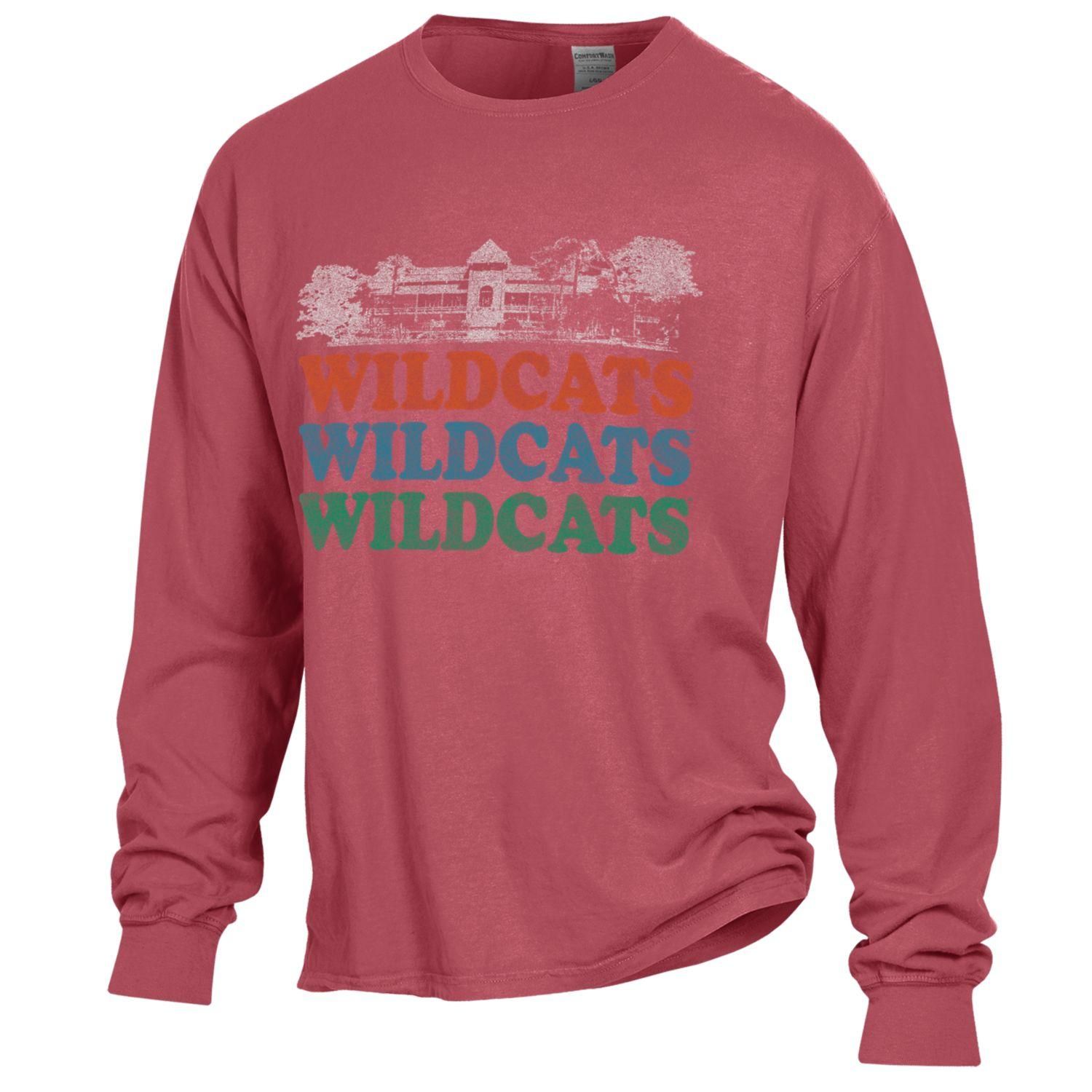 Image For Gear: Arizona Old Main Wildcats Garment Dyed Long Sleeve