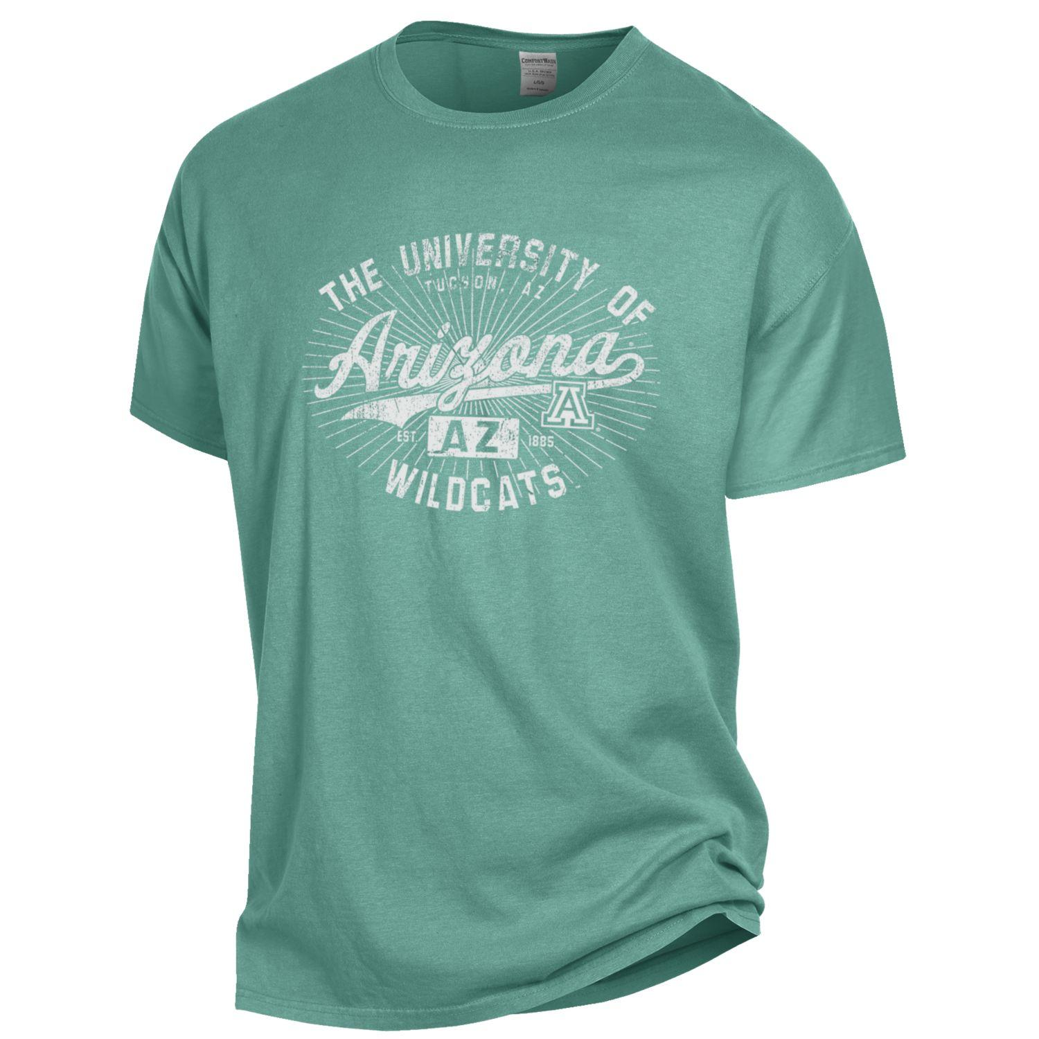 Image For ComforWash: Arizona AZ Wildcats Garment Dyed Tee
