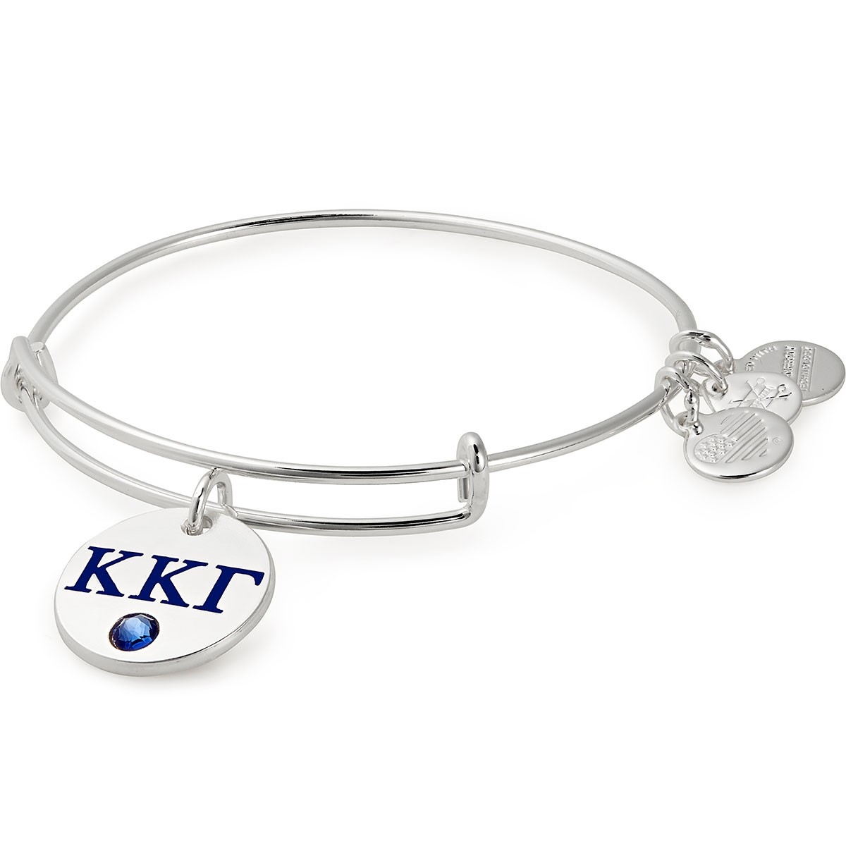 Image For Alex and Ani: Kappa Kappa Gamma Color Infusion Charm Bangle