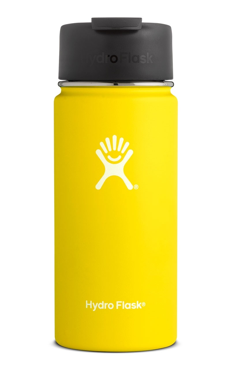 Image For Hydroflask: 16 oz Coffee Flip Cobalt Lemon
