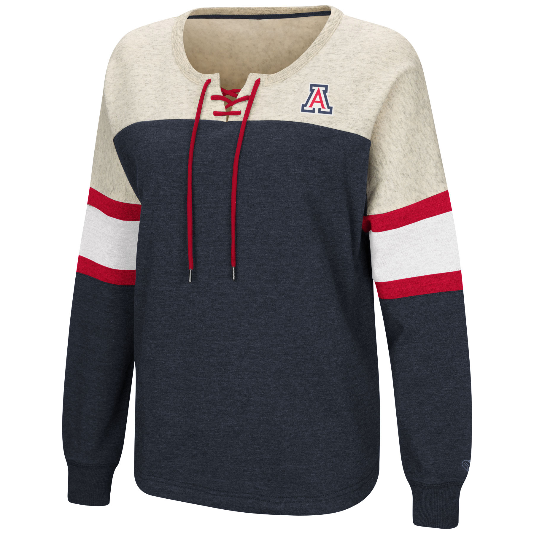 Image For Colosseum: Arizona Women's Become Great Lace-Up Pullover