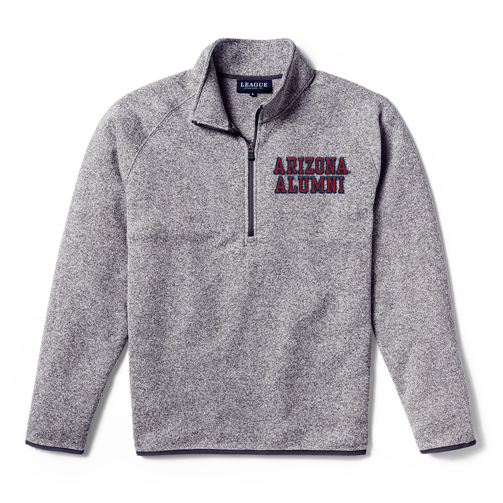 Image For League 91: Arizona ALUMNI Men's Saranac 1/4 Zip