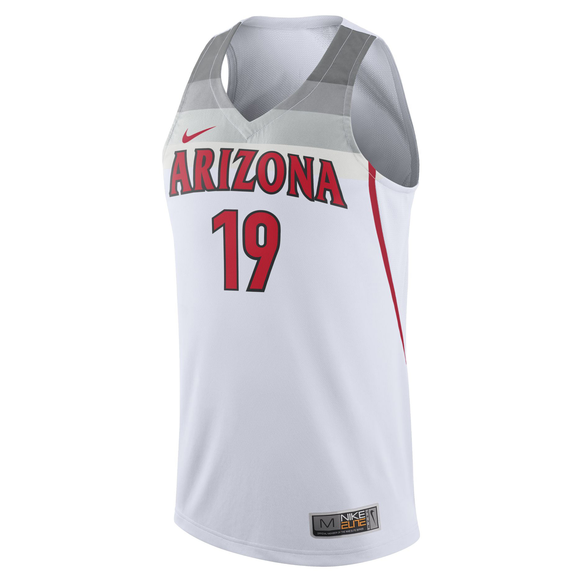 Image For 2019 Arizona Wildcats Basketball Replica Jersey - White