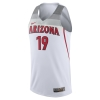 Cover Image for 2019 Arizona Wildcats Basketball Replica Jersey - White