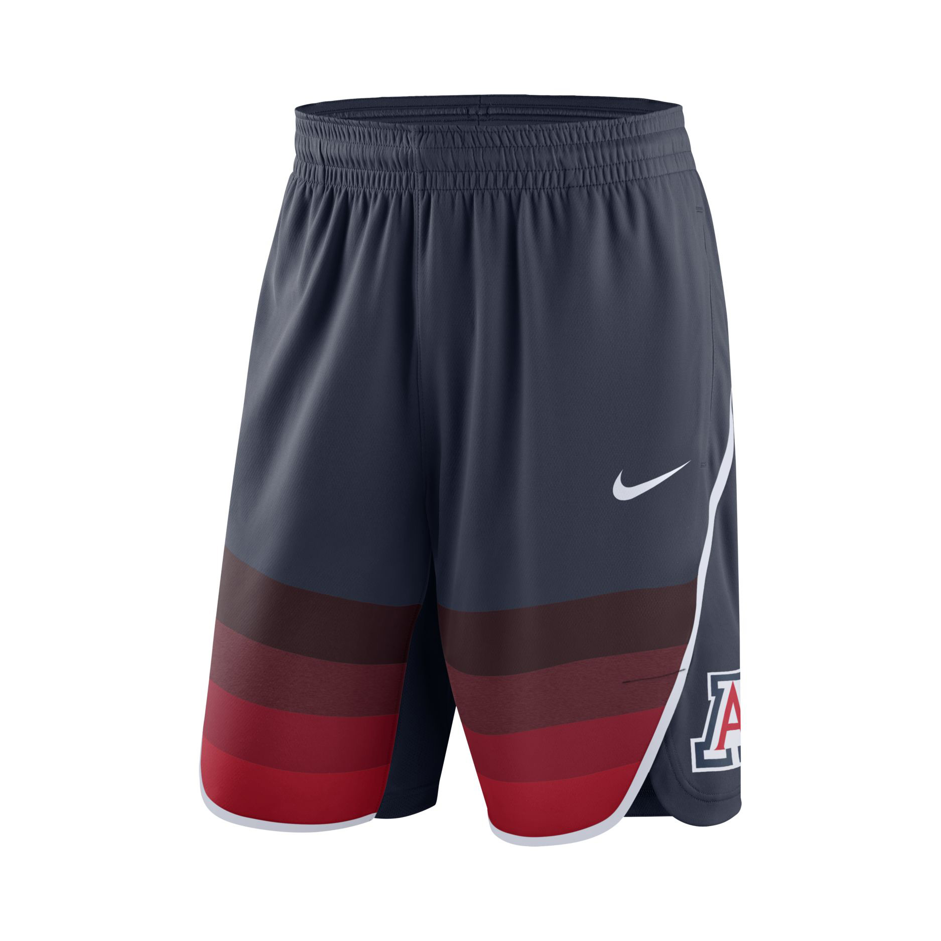 Image For Nike: 2019 Arizona Wildcats Basketball Replica Shorts - Navy