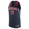 Cover Image for 2019 Arizona Wildcats Nike Replica Basketball Jersey - Navy