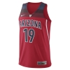 Cover Image for 2019 Arizona Wildcats Nike Basketball Authentic Jersey - Red