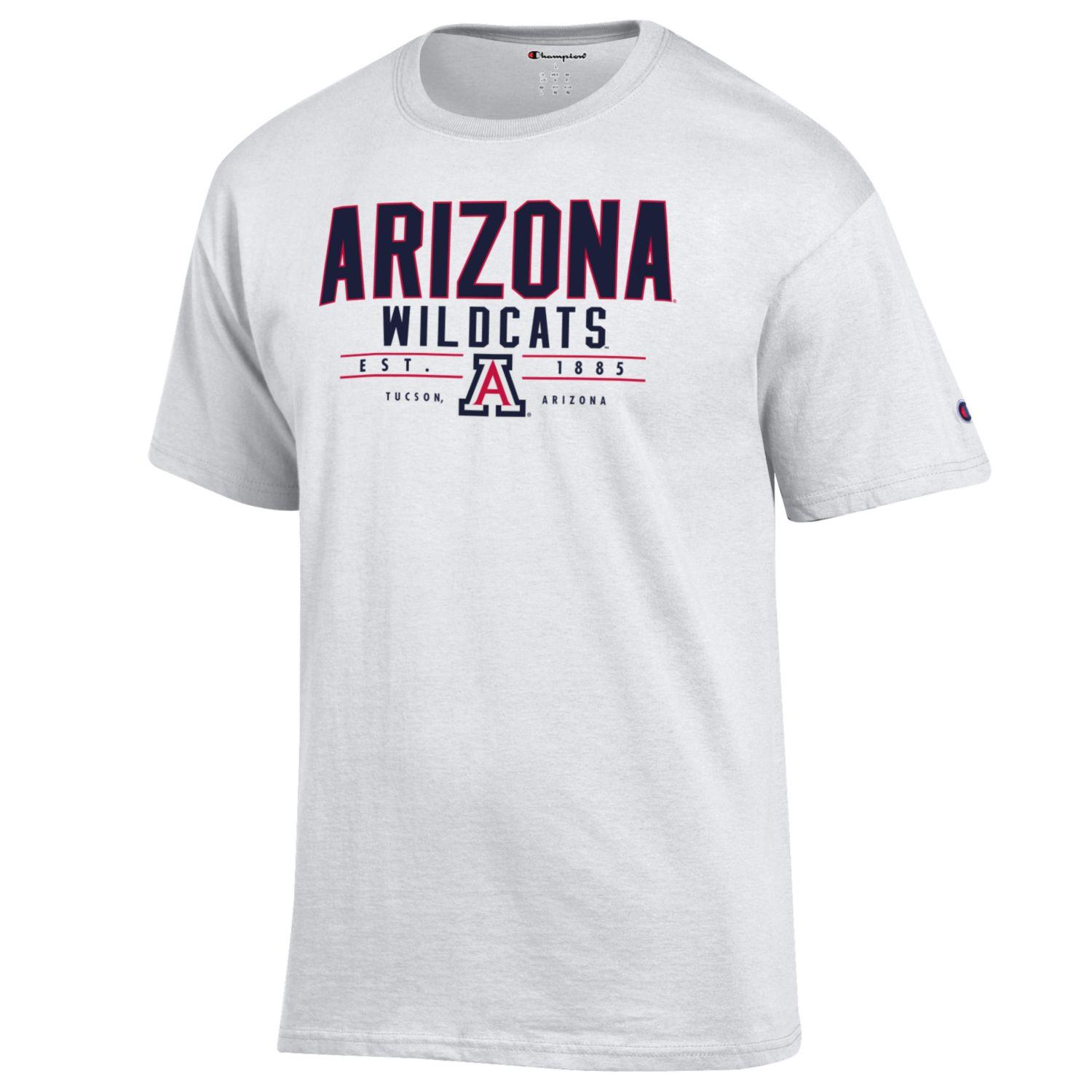 Image For Champion: Arizona UA 1885 Football Game 5 Ticket Tee