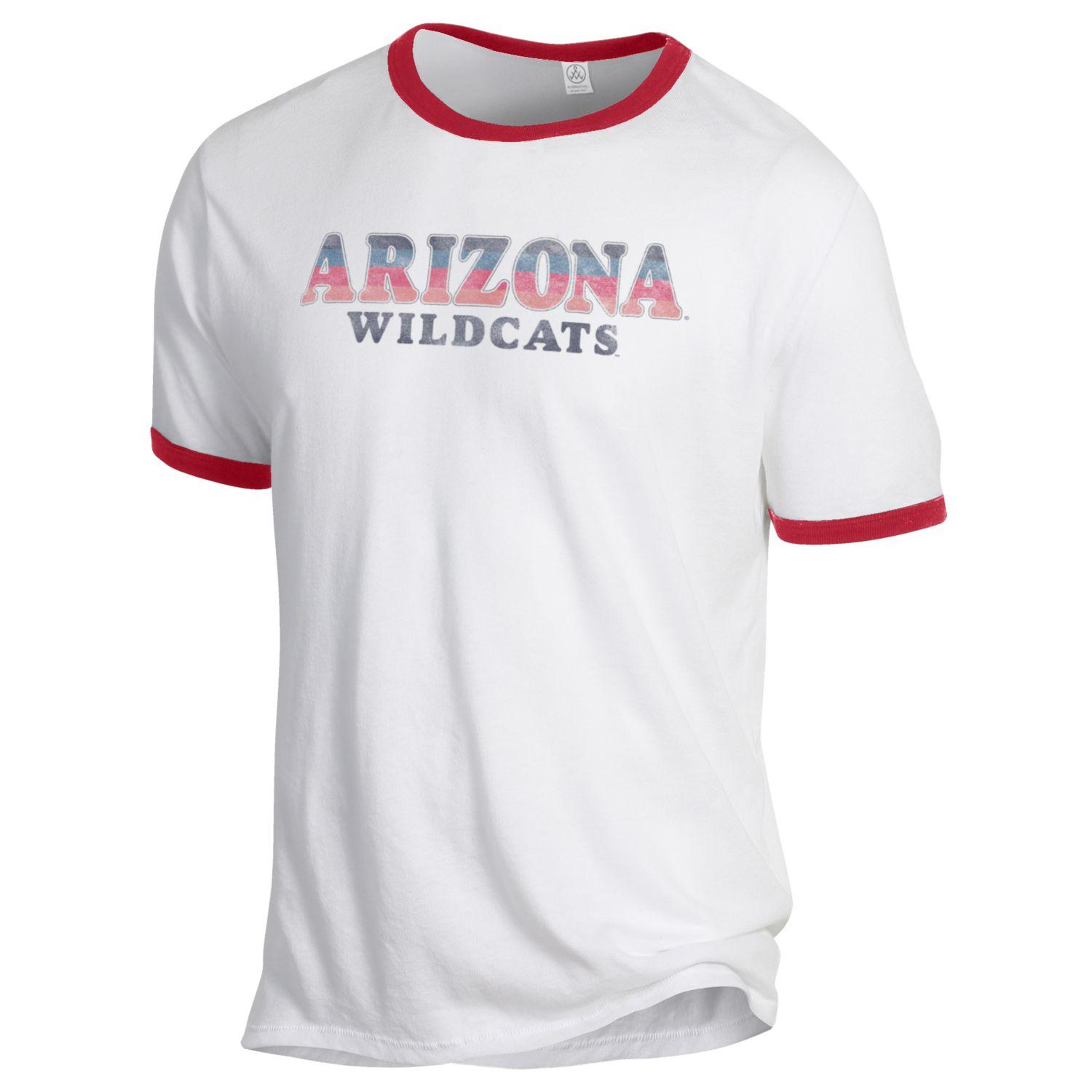Cover Image For Gear Alternative: Arizona Wildcats Keeper Ringer Tee Red