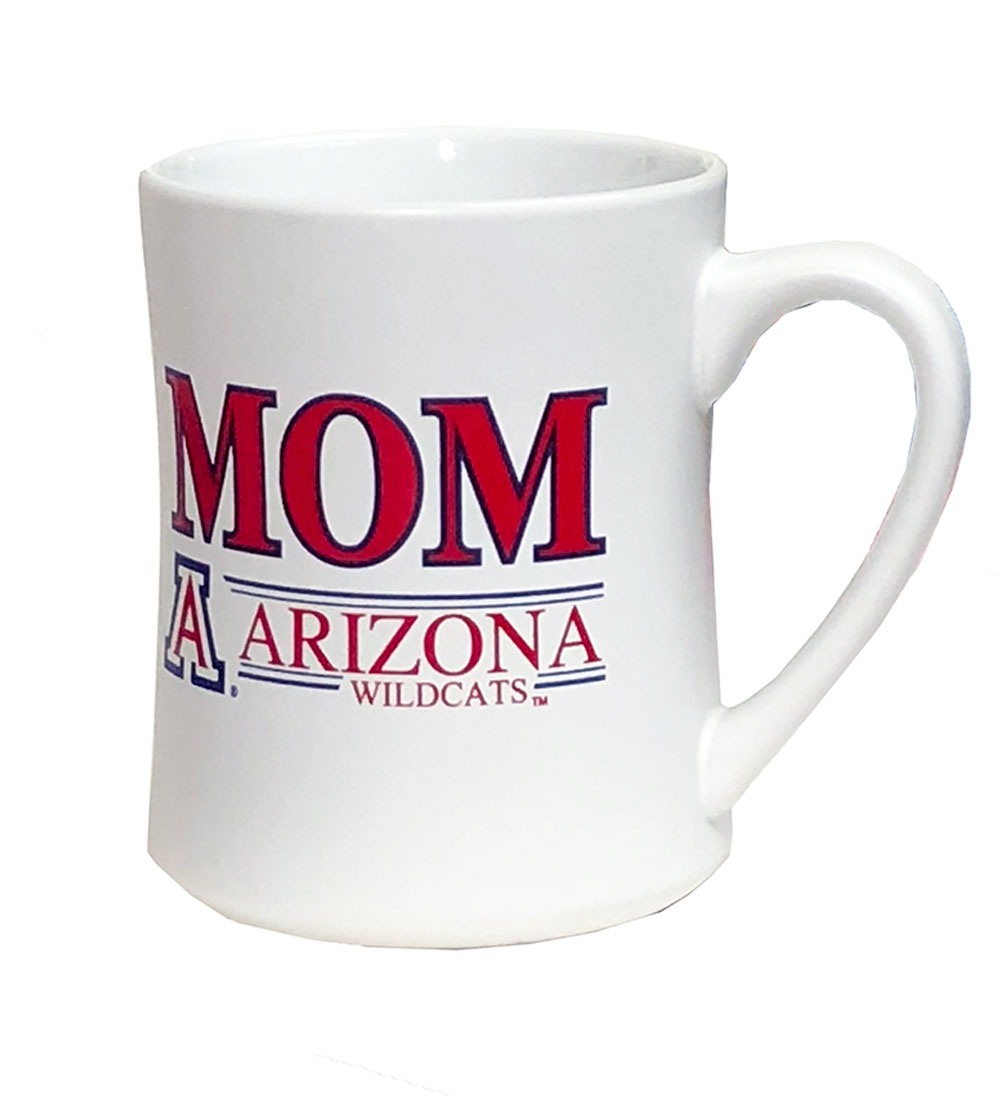 Image For Coffee Mug: Arizona Wildcats Mom 16 oz Mug White
