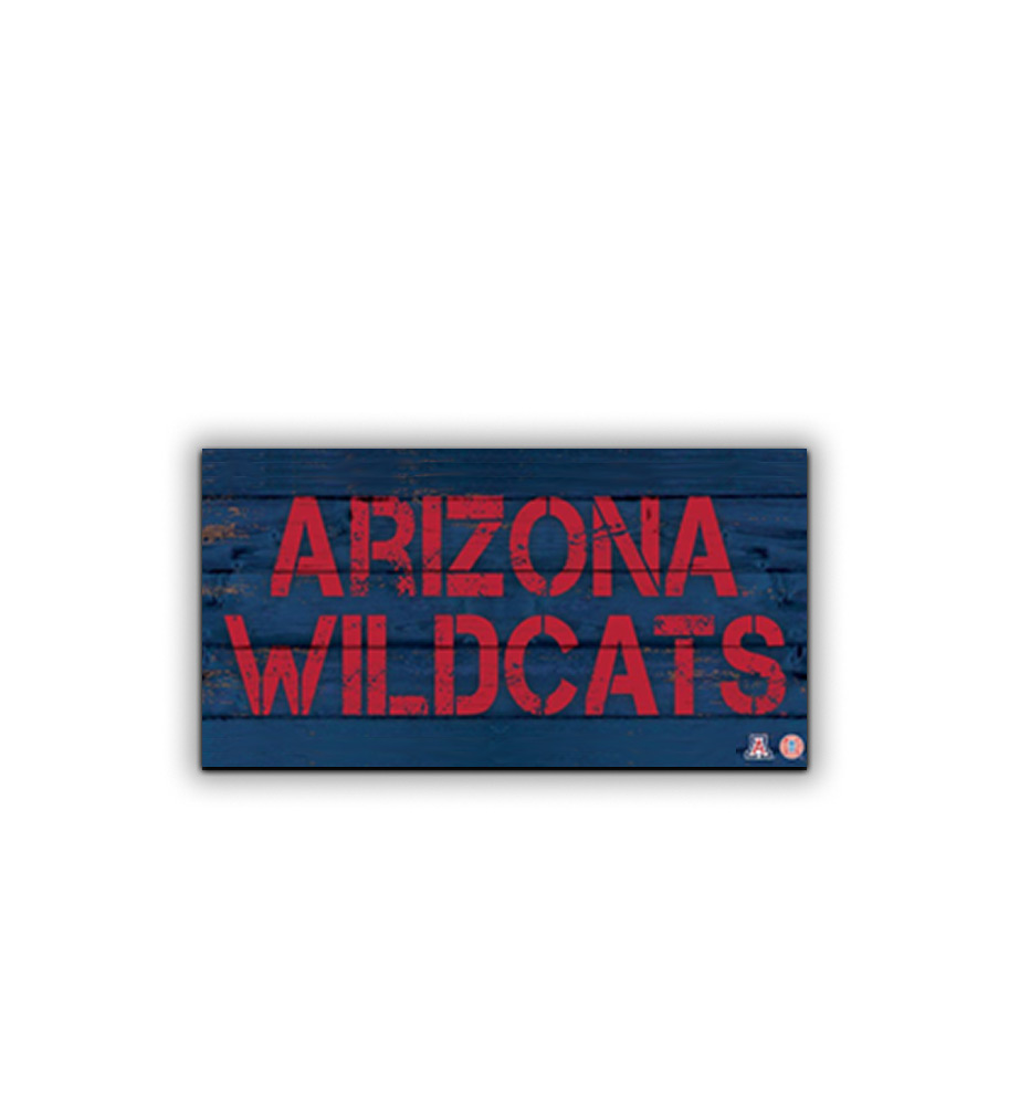 Image For Artissimo: Arizona Wildcats Rustic Pub Sign