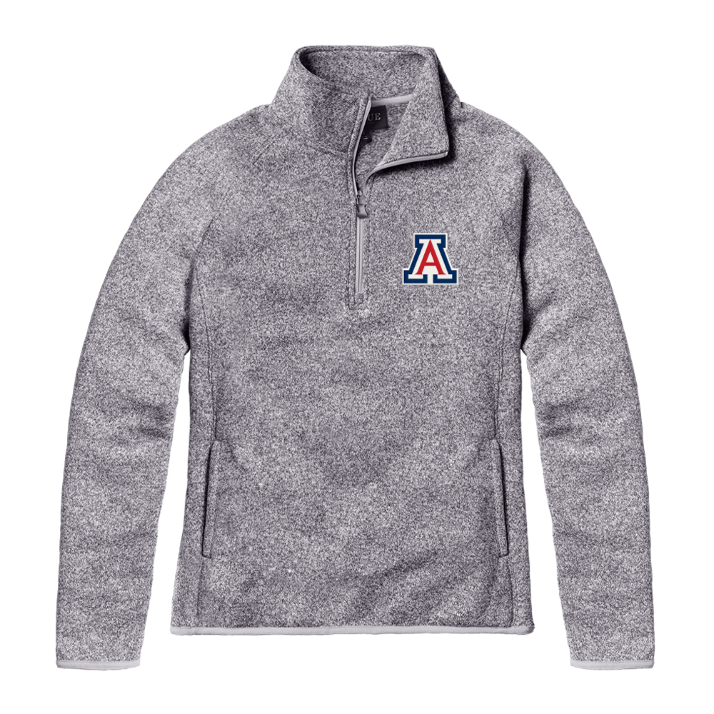 Image For League 91:  Arizona Team Logo Saranac Quarter-Zip