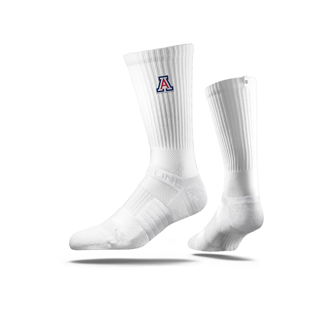 Image For Strideline: Arizona Team Logo Embroidery Mid White