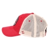 Cover Image for Zephyr: Arizona Homestead Snapback Cap - Red/Cream