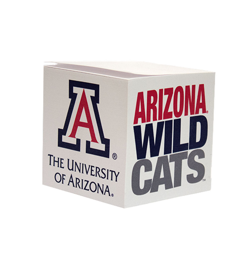 Image For Bic: Arizona Wildcats Adhesive Note Cube