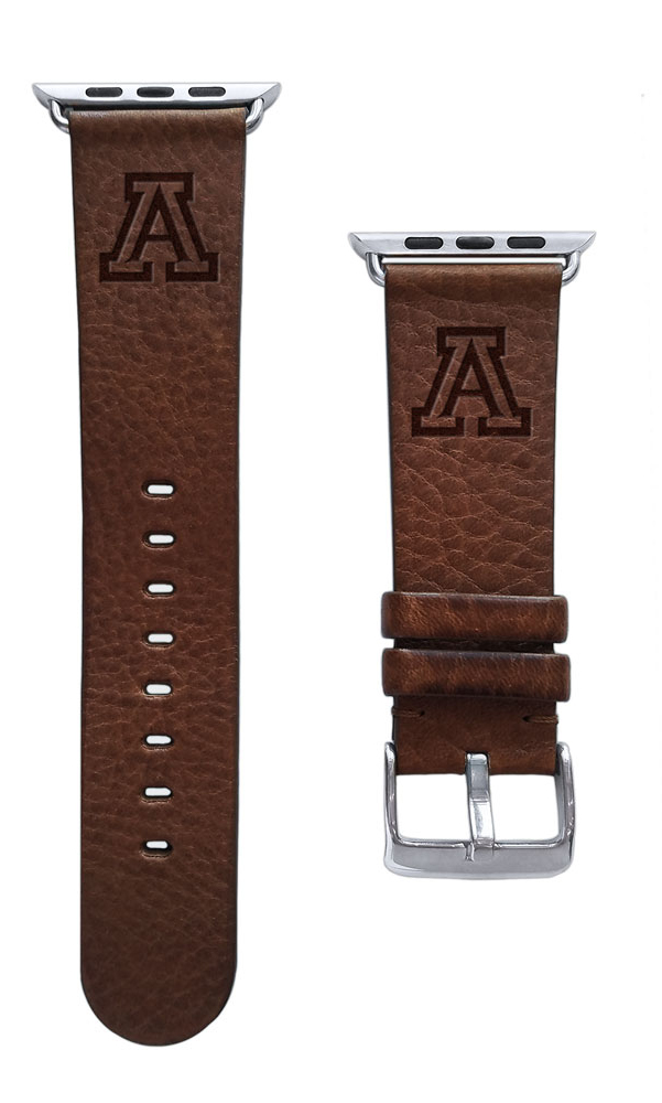 Image For Affinity Band: Arizona Wildcats Leather Band for Apple Watch