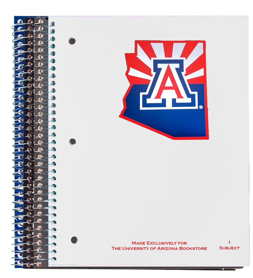 Image For Notebook: Team Logo State Outline 1 Subject