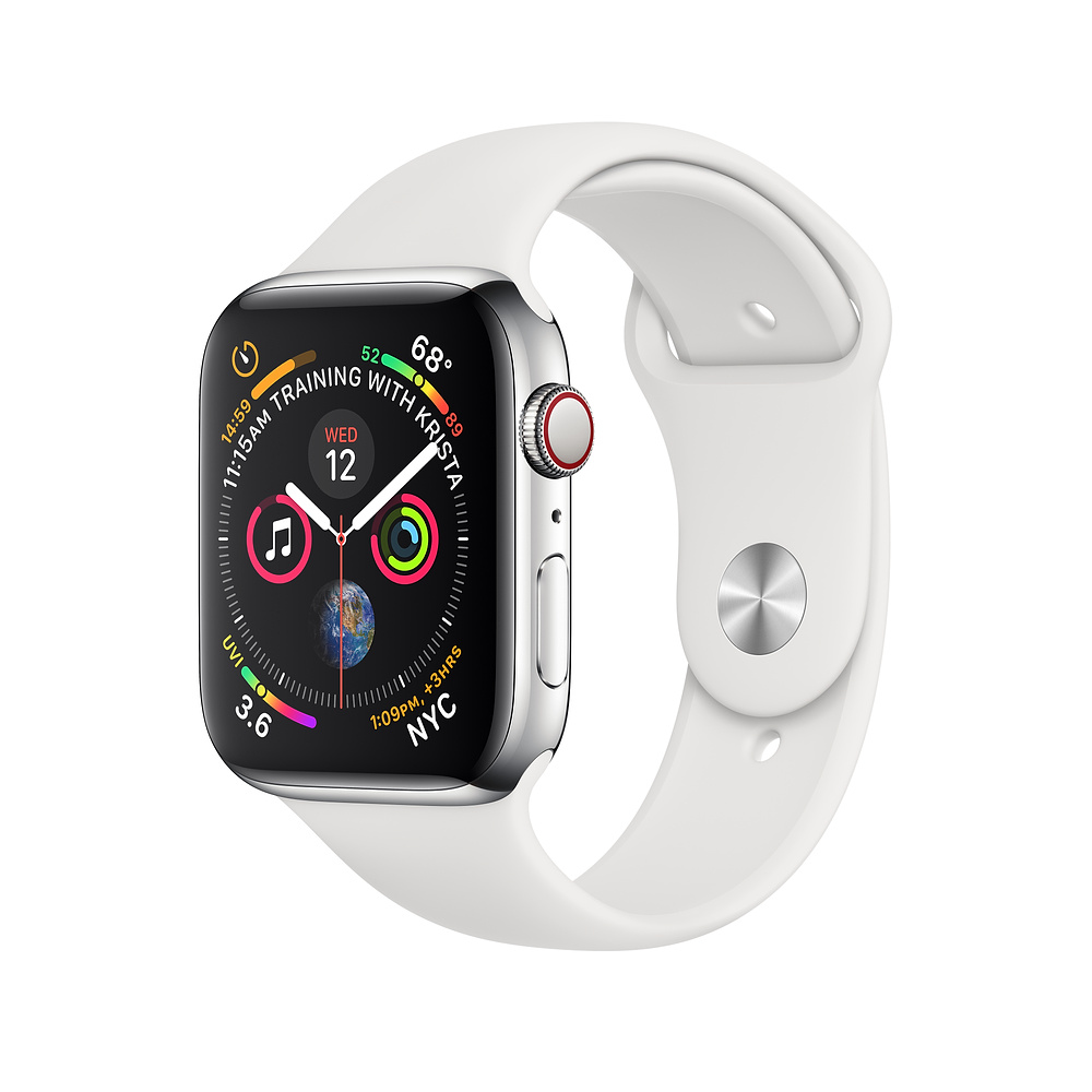 Image For Apple Watch Series 4 (GPS + Cellular) 44mm Stainless Steel
