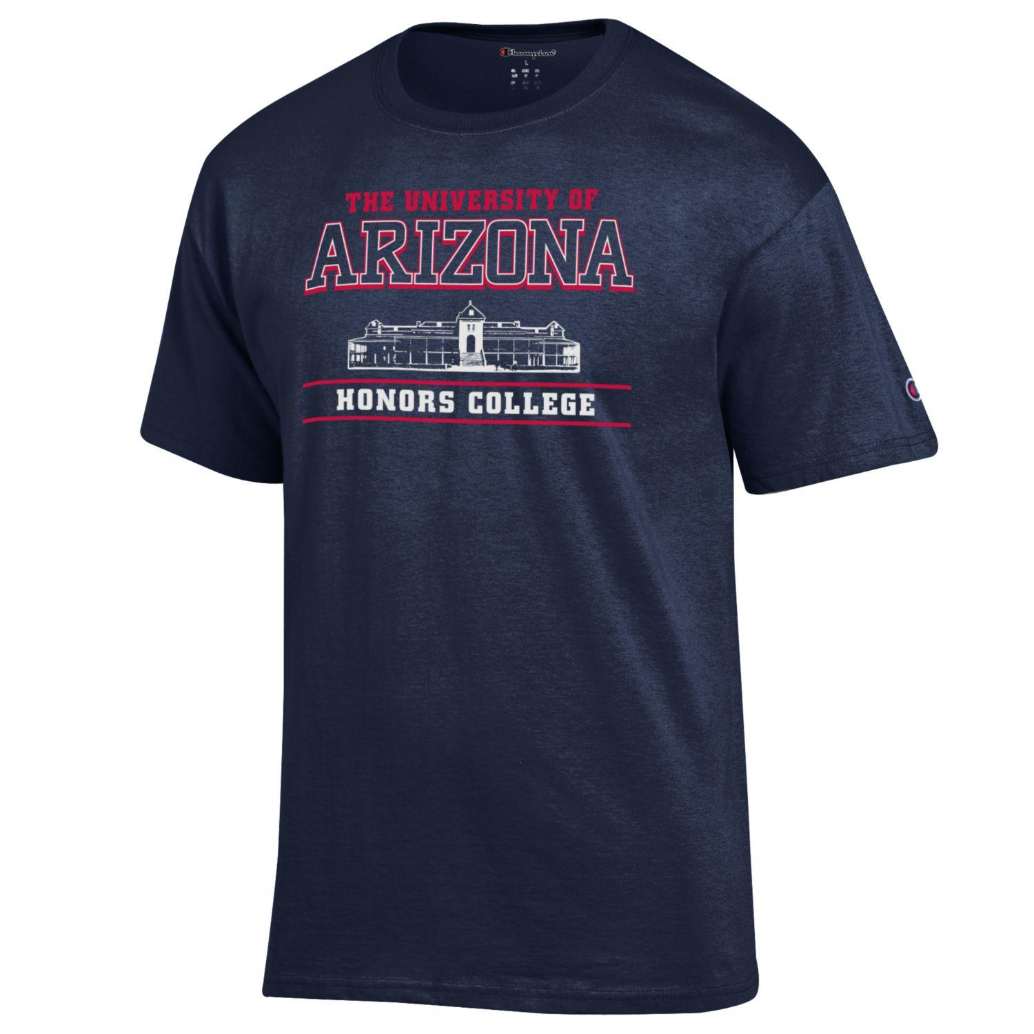 Image For Champion: Univesity of Arizona Honors College Tee -Navy