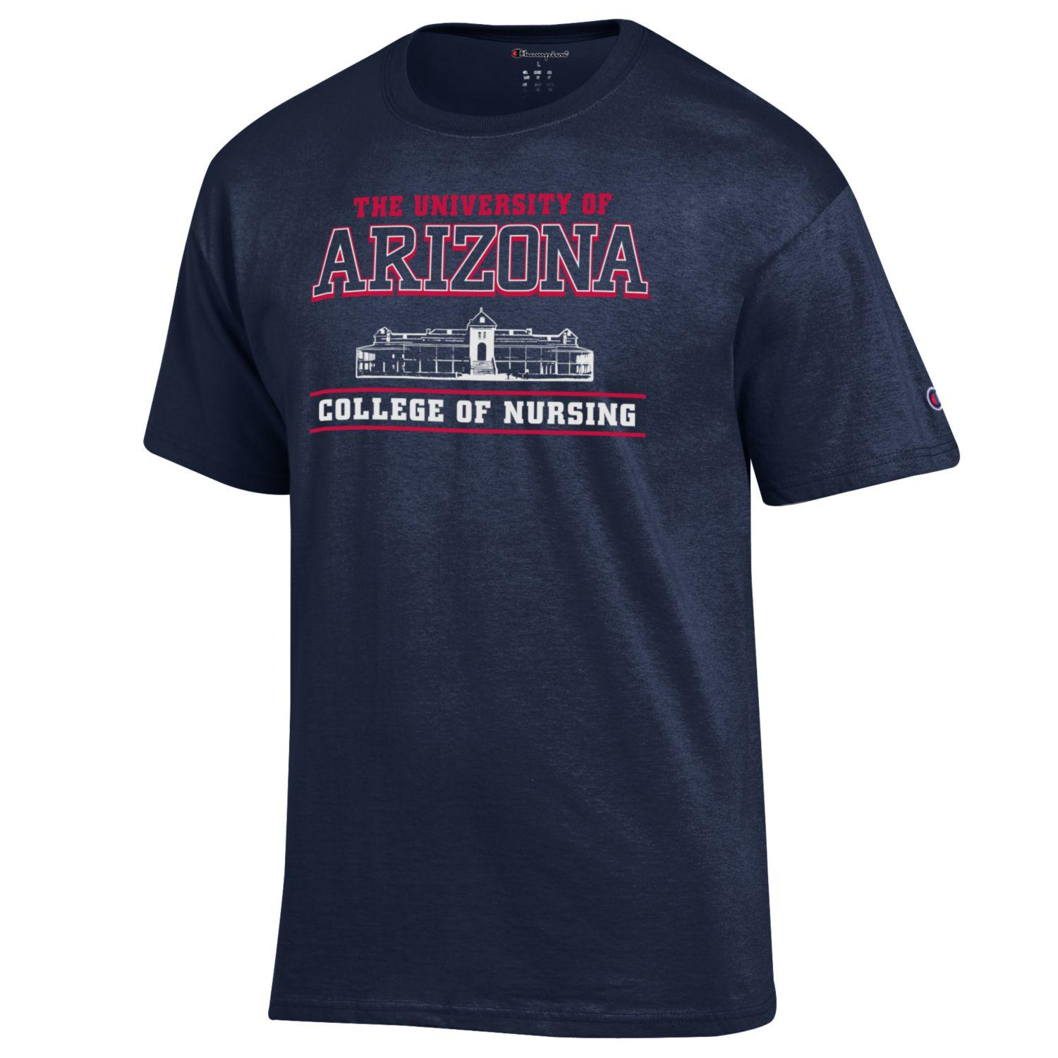 Image For Champion: College of Nursing Tee - Navy