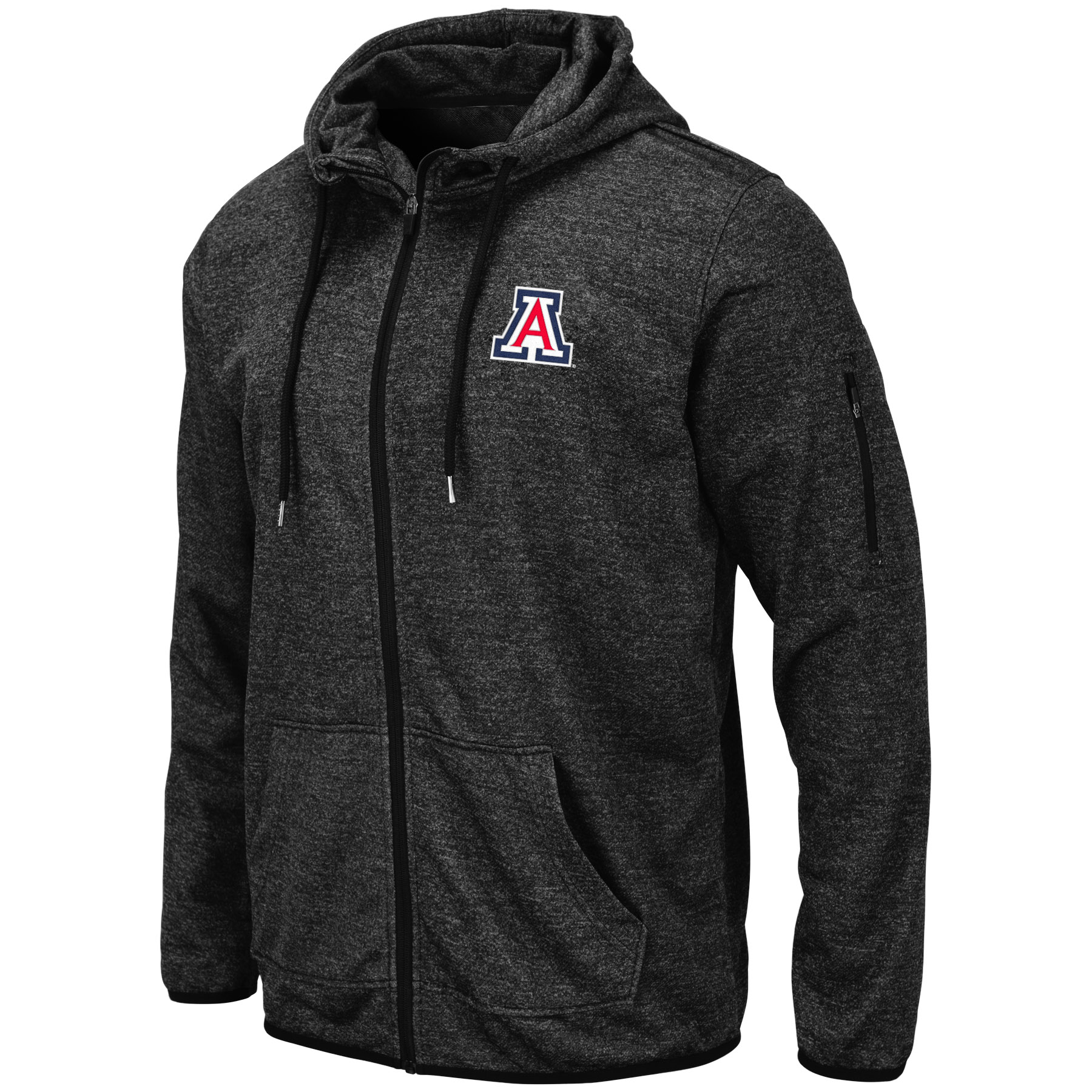 Image For Colosseum: Arizona Melbourne Full Zip Hoodie