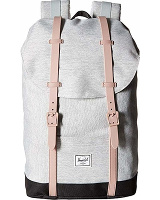 Image For Herschel: Retreat Mid-Volume Grey- Rose