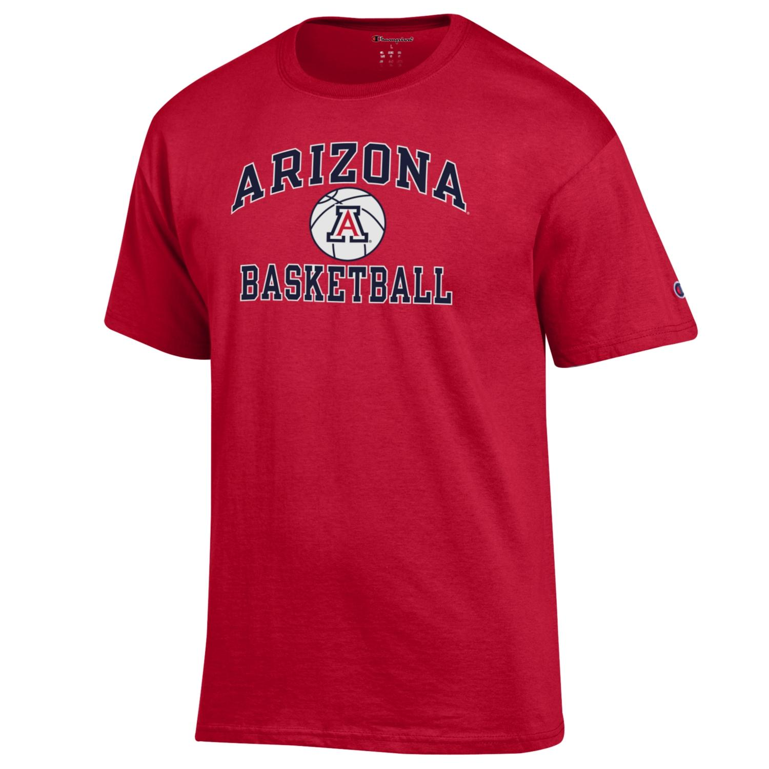 Image For Champion: Arizona Sport Basketball Tee - Red