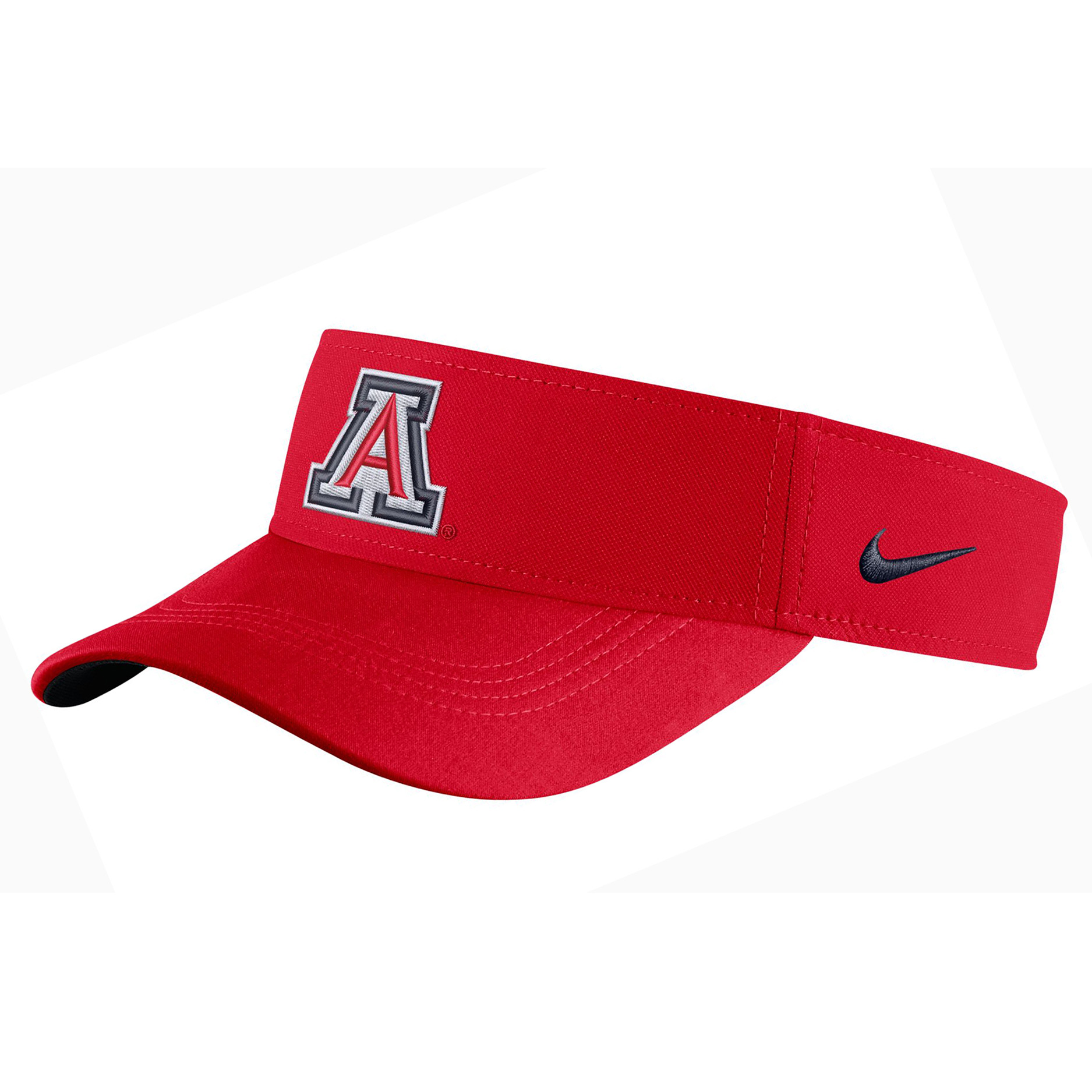 Image For Nike: Arizona 2018 Sideline Logo Red Dri-Fit Visor