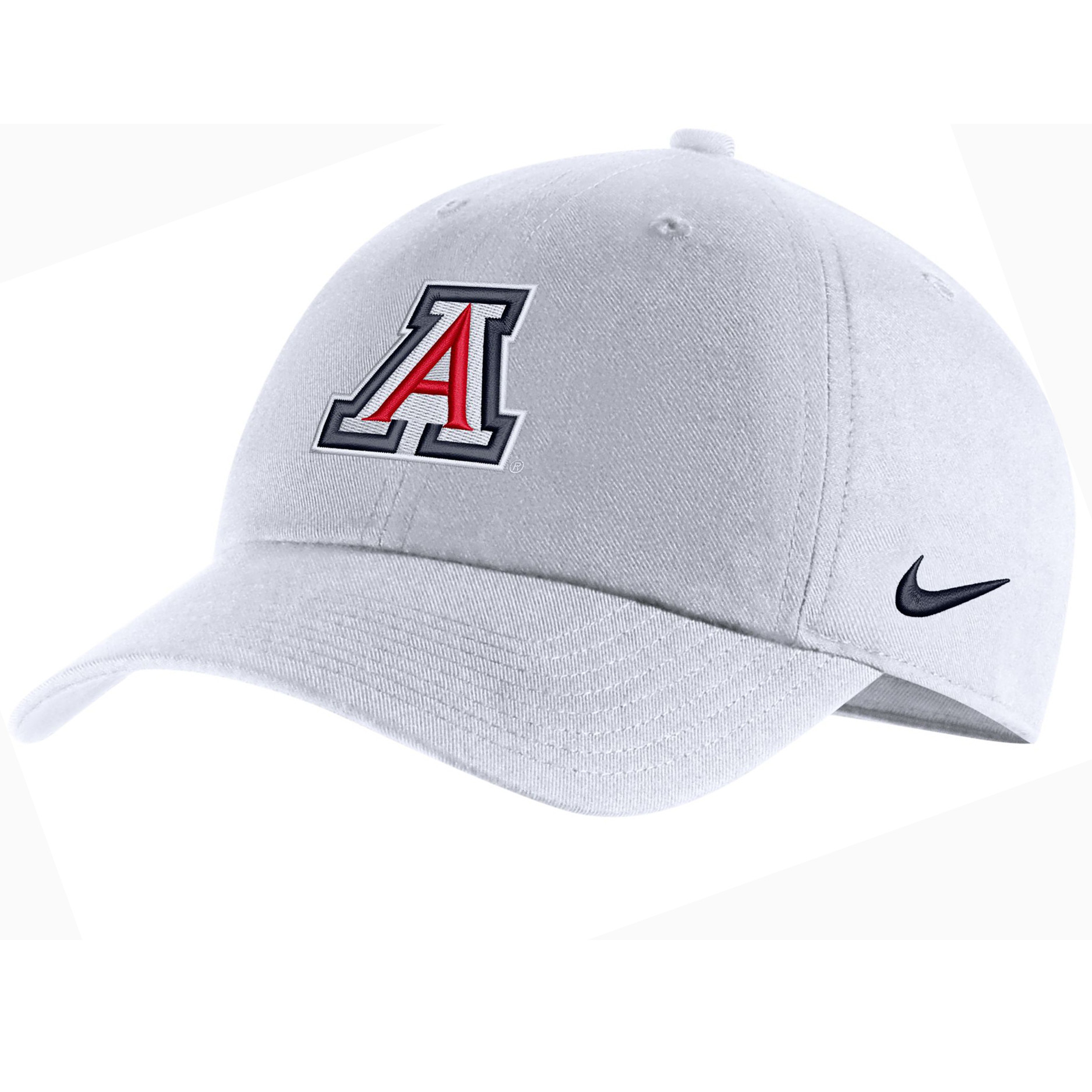 Image For Nike: Arizona Team Logo Heritage 86 Adjustable Hat-White