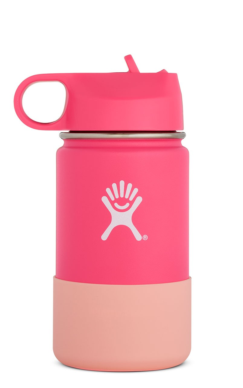 Image For Hydro Flask: 12 oz Kids Wide Mouth - Watermelon