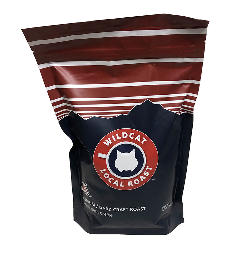 Image For Wildcat Local Roast Medium / Dark Craft Whole Bean Coffee