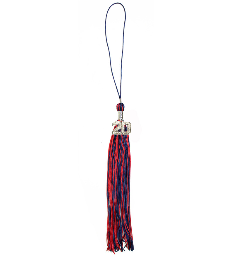Image For Arizona Graduation Souvenir Red and Navy Tassel