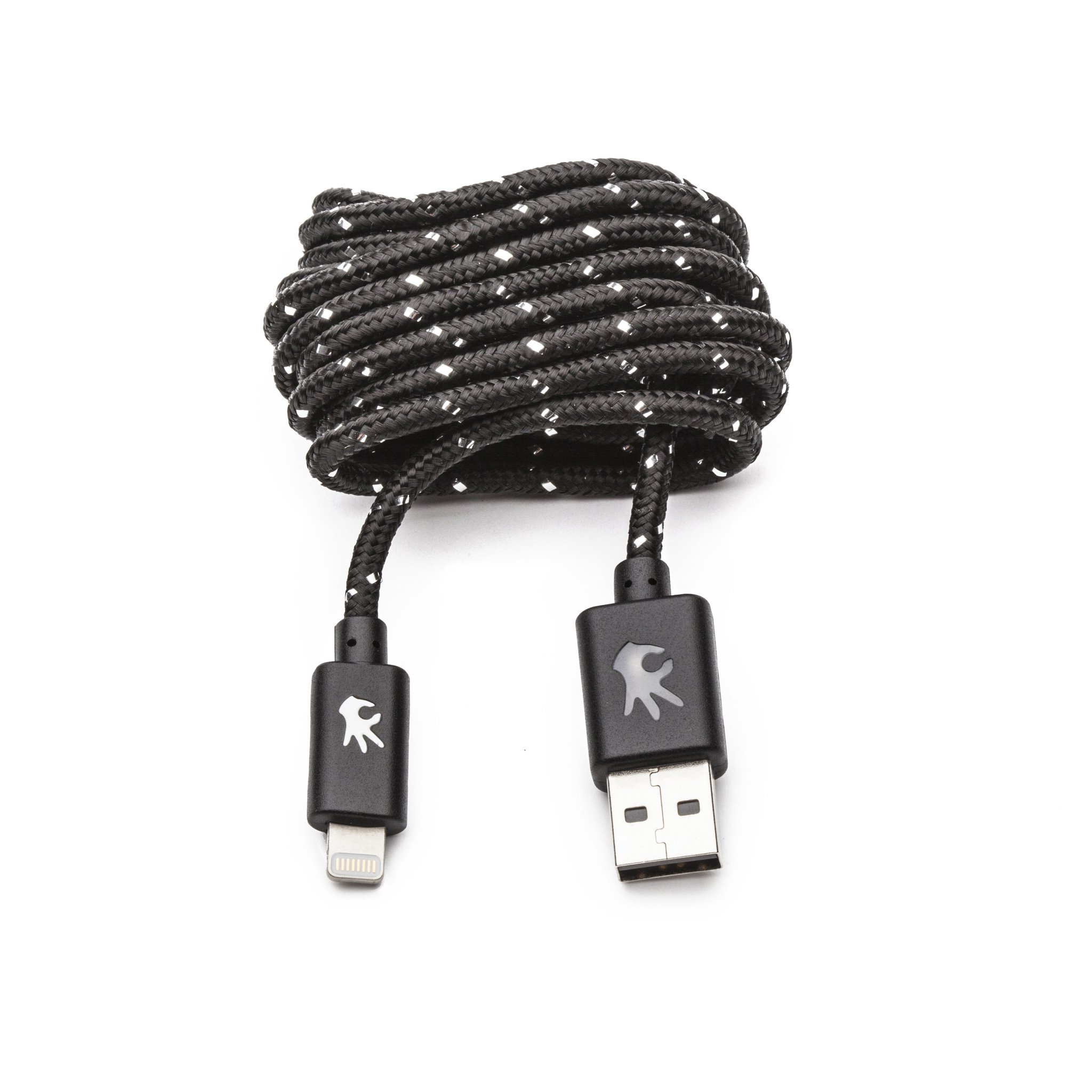 Image For OnHand: Lightning Everlasting Nylon Cable 5' Black