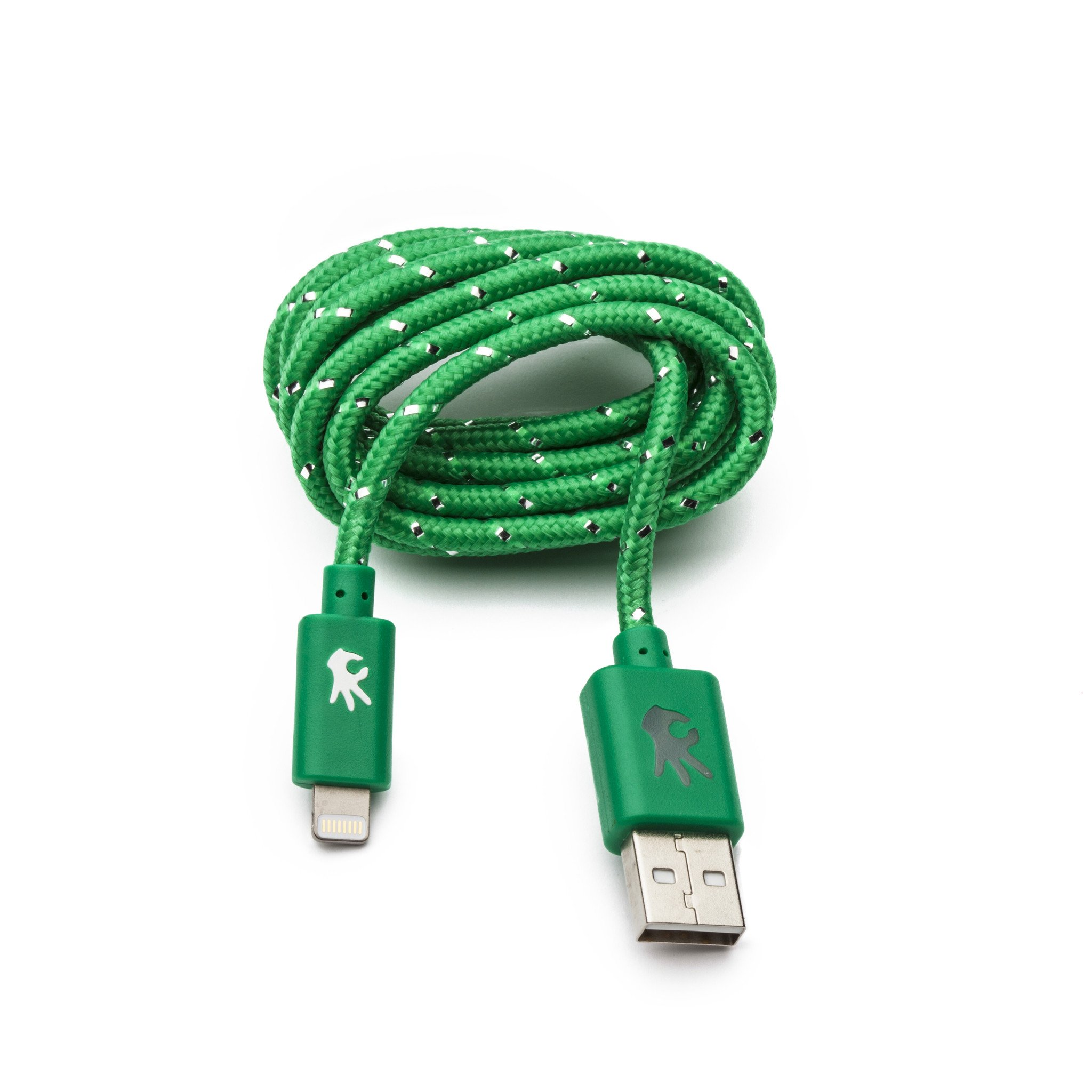 Image For OnHand: Lightning Everlasting Nylon Cable 5' Green