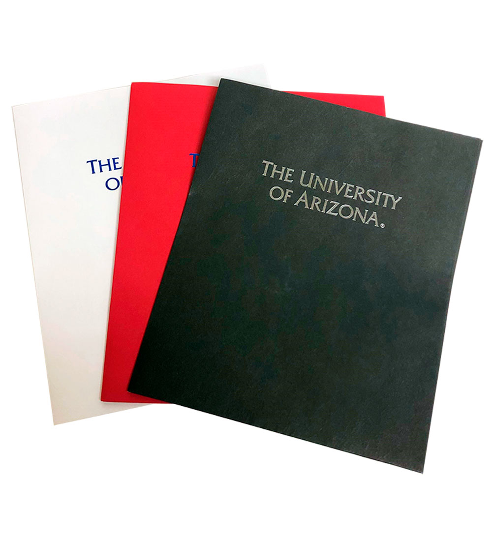 Image For Folder: The University of Arizona Pocket Folder