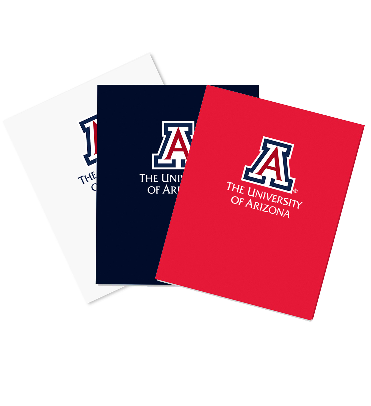 Image For Folder: The University Arizona Logo Laminated High Gloss