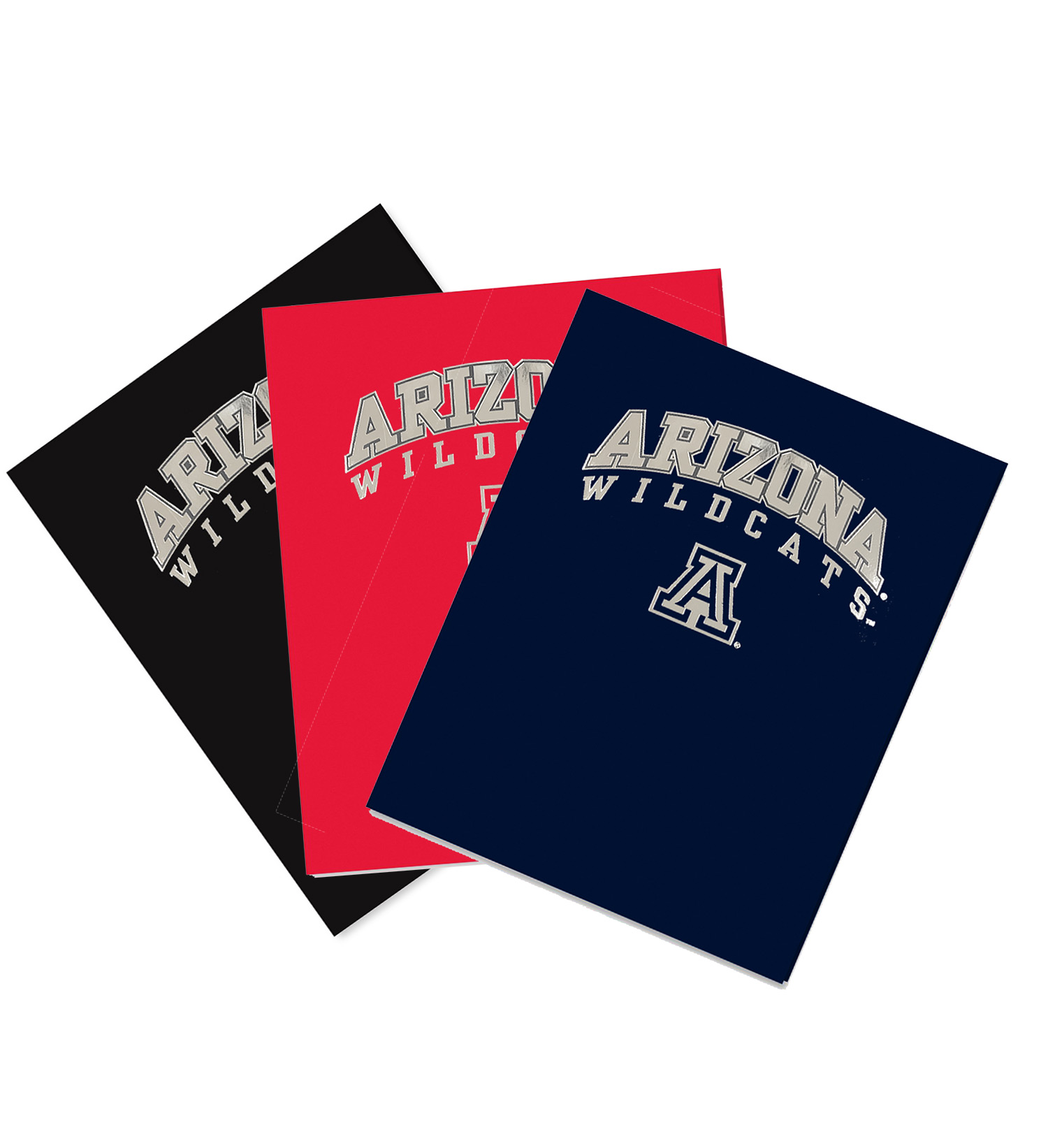 Image For Folder: Arizona Wildcats Arch Logo Laminated High Gloss