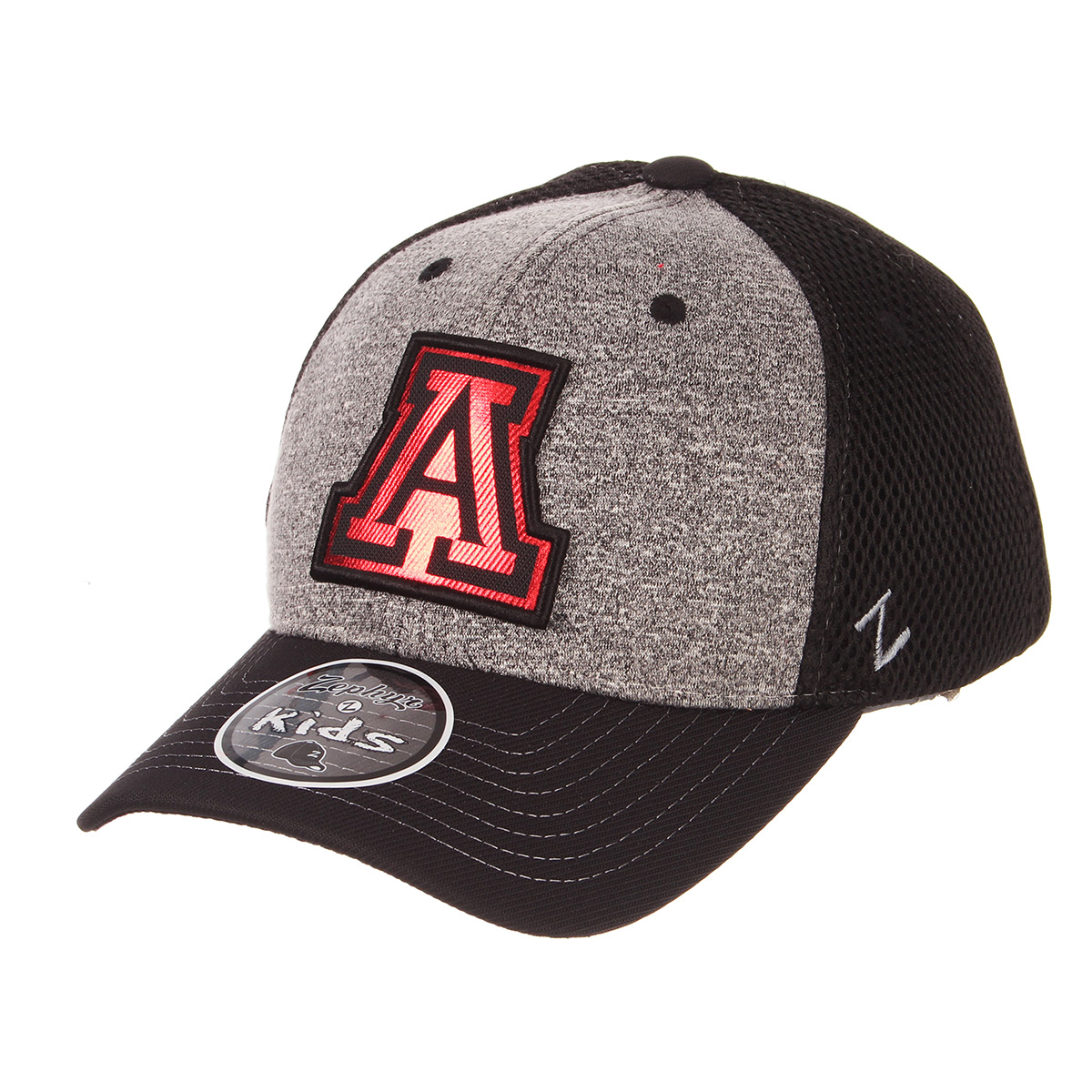 Image For Zephyr: Arizona Cosmo Youth Cap Heather Poly