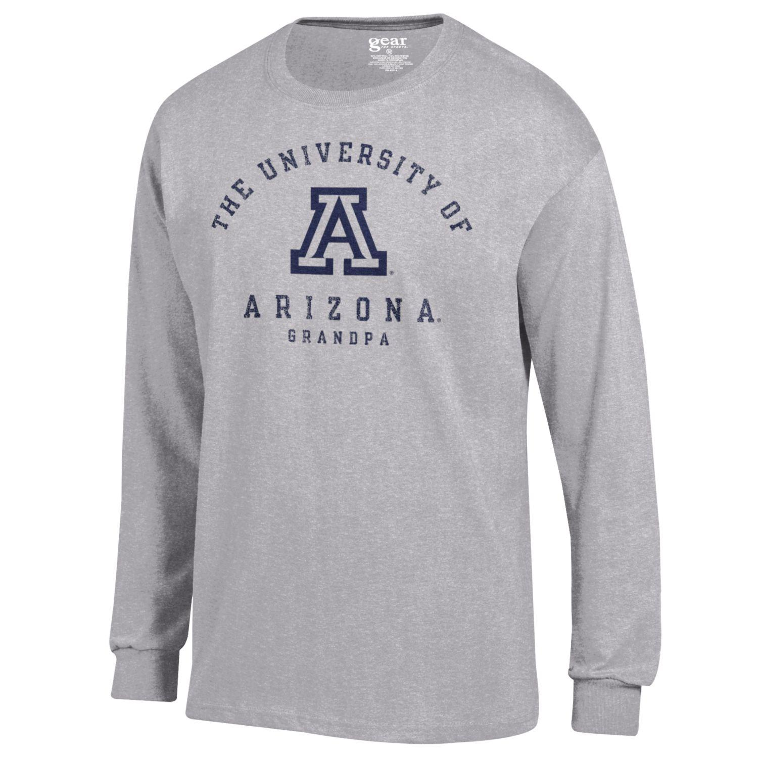 Image For Gear: Arizona Grandpa Long Sleeve - Grey