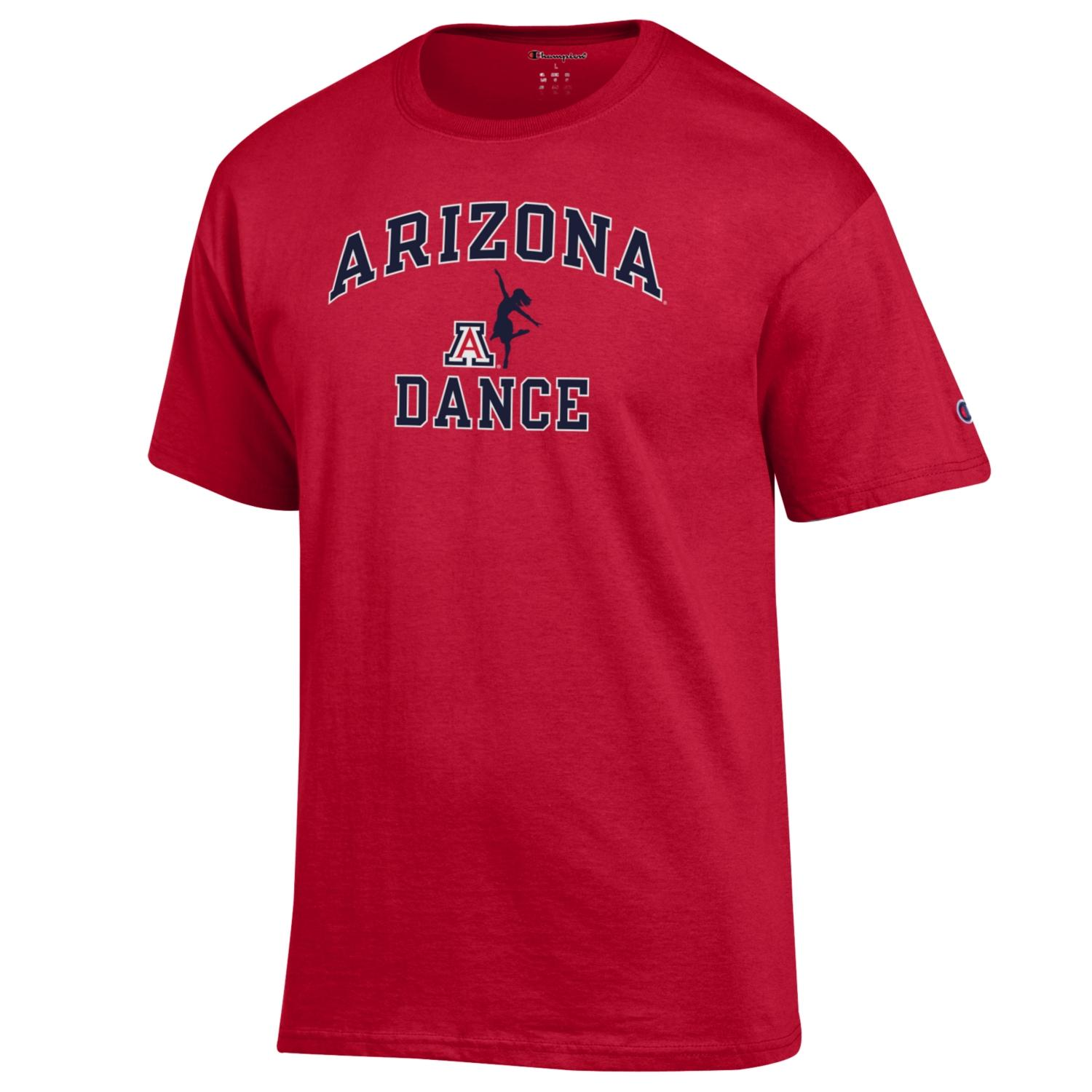 Image For Champion: Arizona Sport Dance Tee - Red