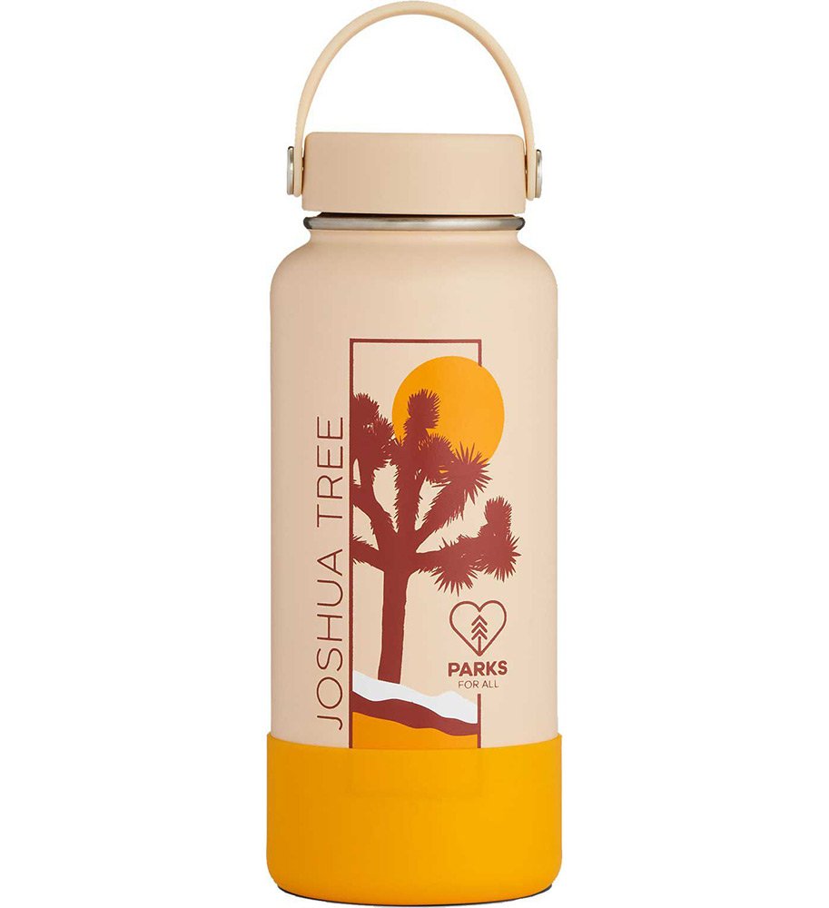 Image For Hydro Flask: National Parks 32oz Wide Mouth Joshua Tree