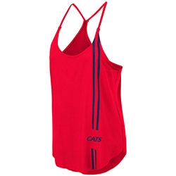 Image For Colosseum: Arizona Women's 'Cats' Dunkirk Tank - Red