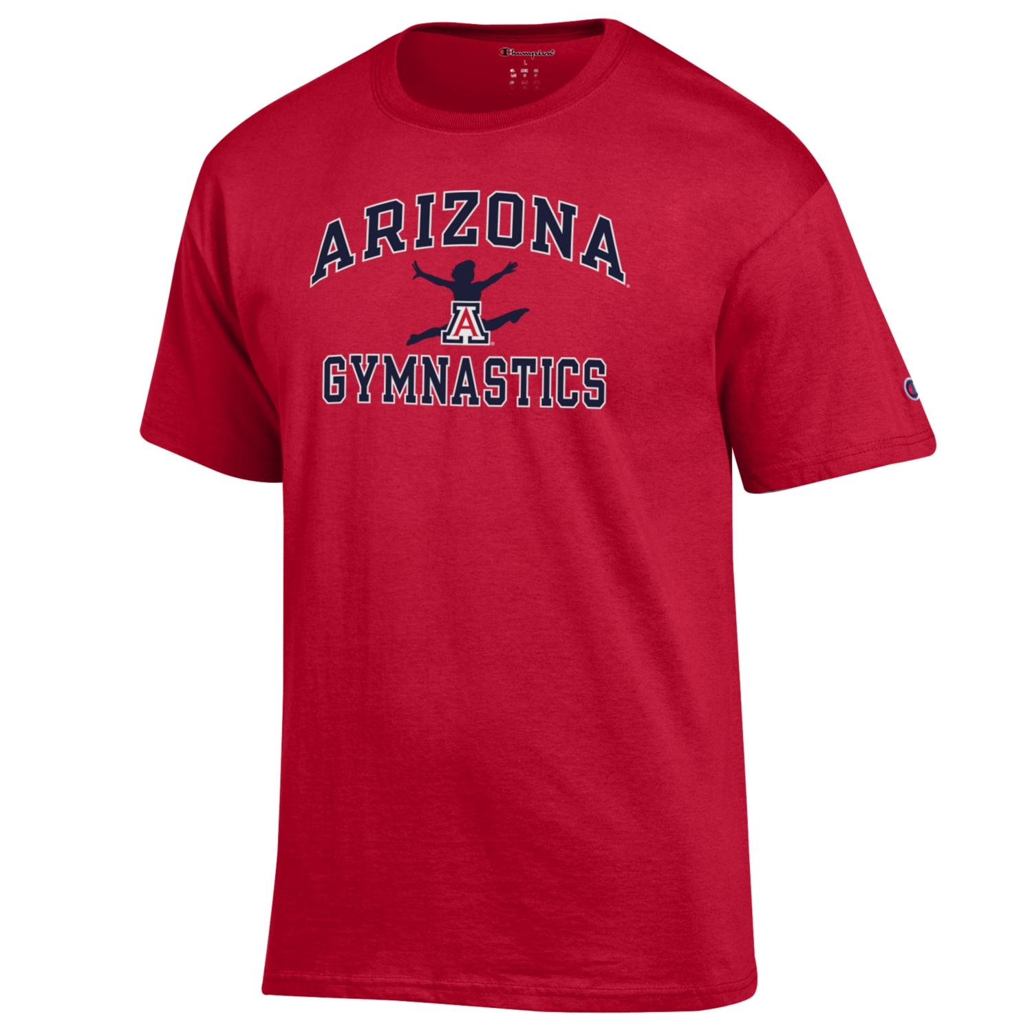 Cover Image For Champion: Arizona Sport Gymnastics Tee - Red