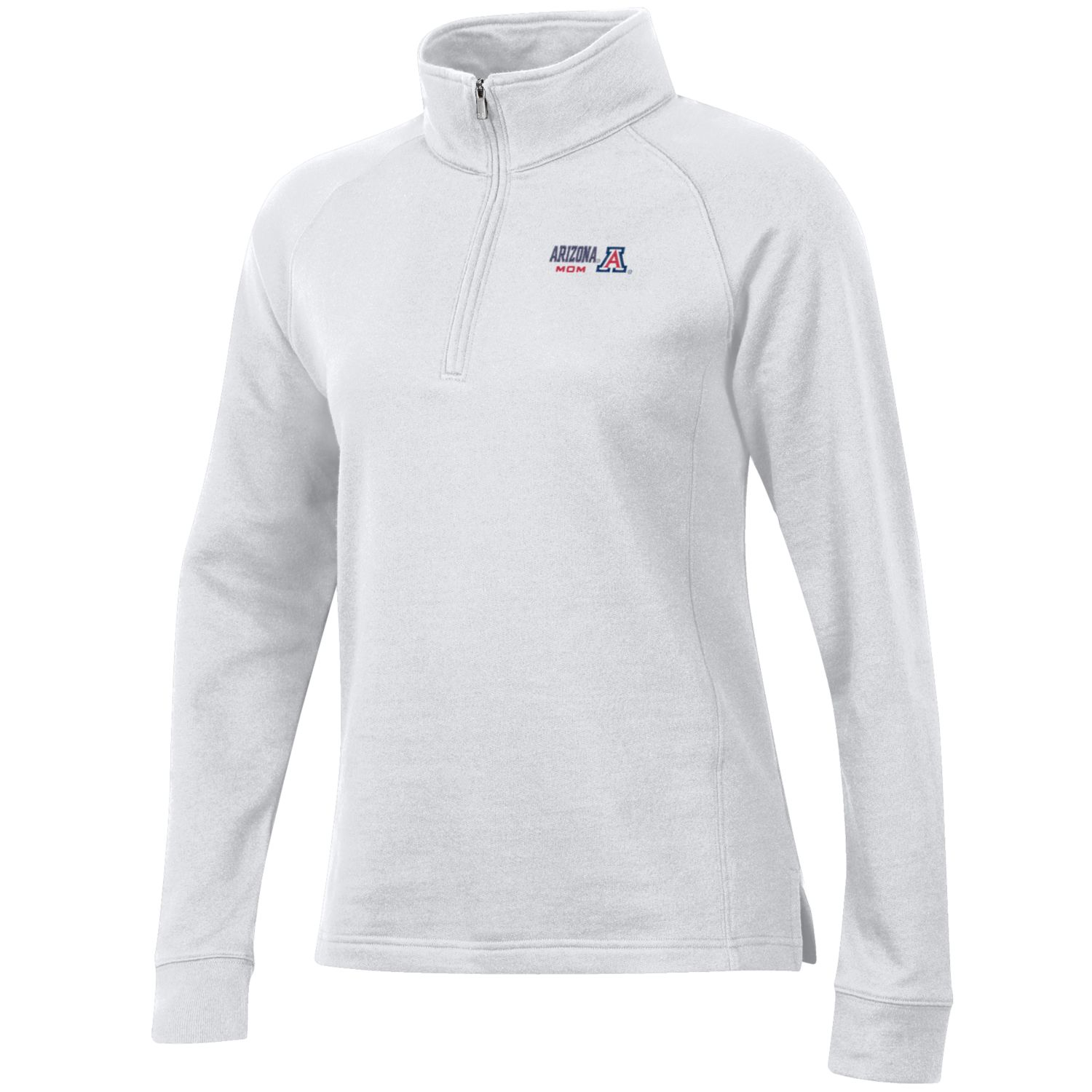 Image For Gear: Arizona MOM Relax Quarter Zip Pullover - White