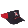Cover Image for Zephyr: Arizona Softball Red and Navy Visor