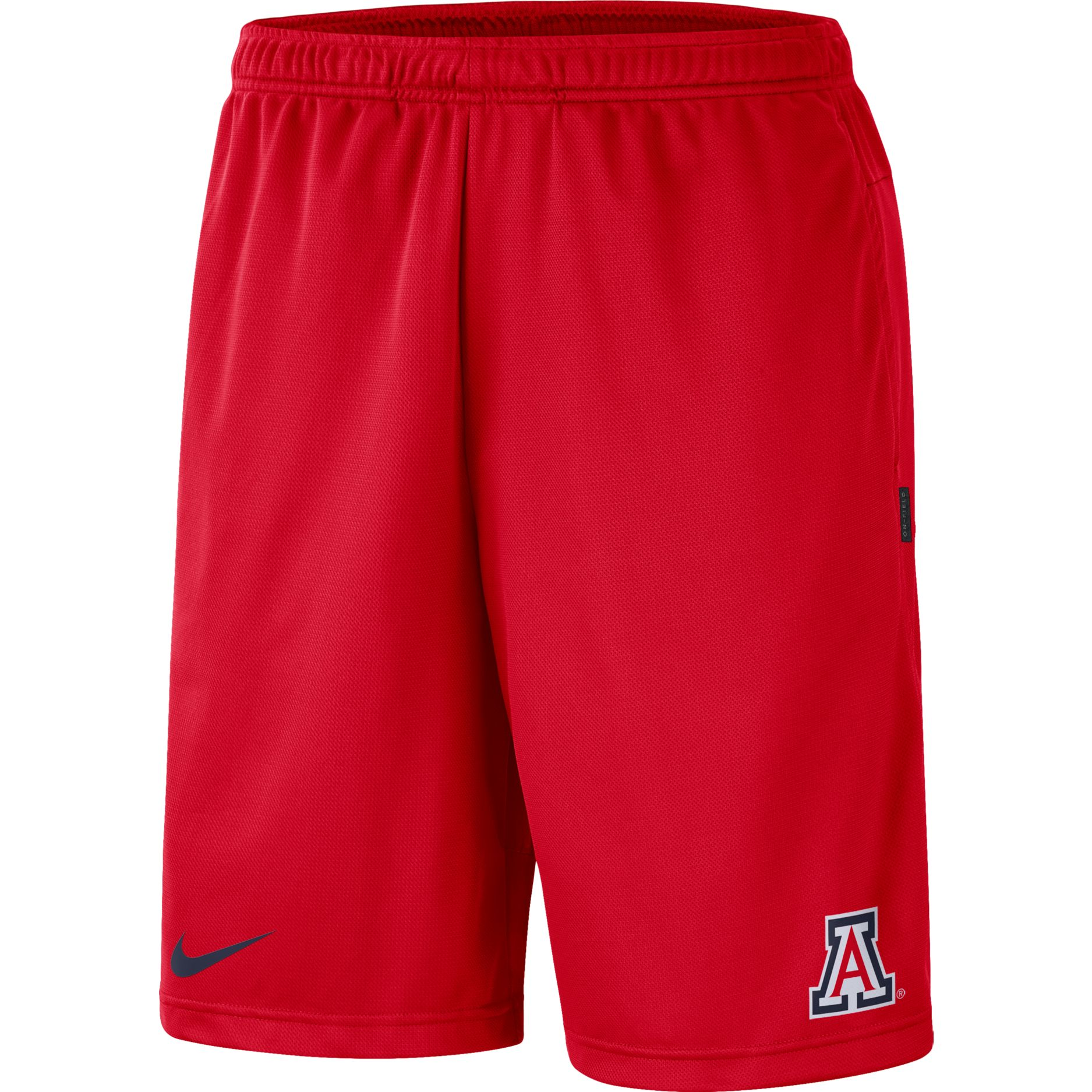 Cover Image For Nike: Arizona Coach Dri-Fit Shorts - Red