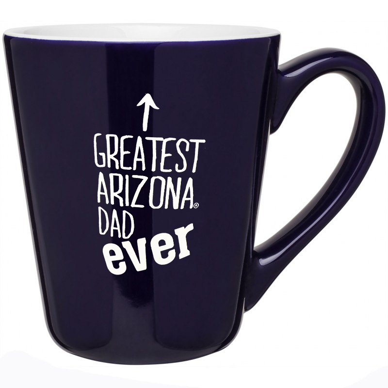 Image For Coffee Mug: The Best ARIZONA DAD Ever - Navy
